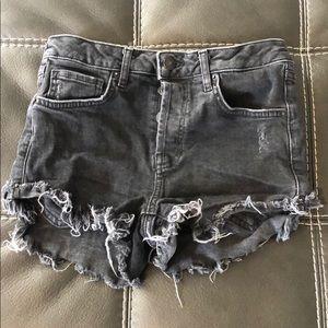 Forever 21 black jean short